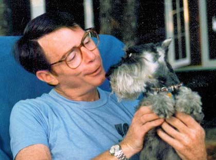 Ron Wormser and Pepper